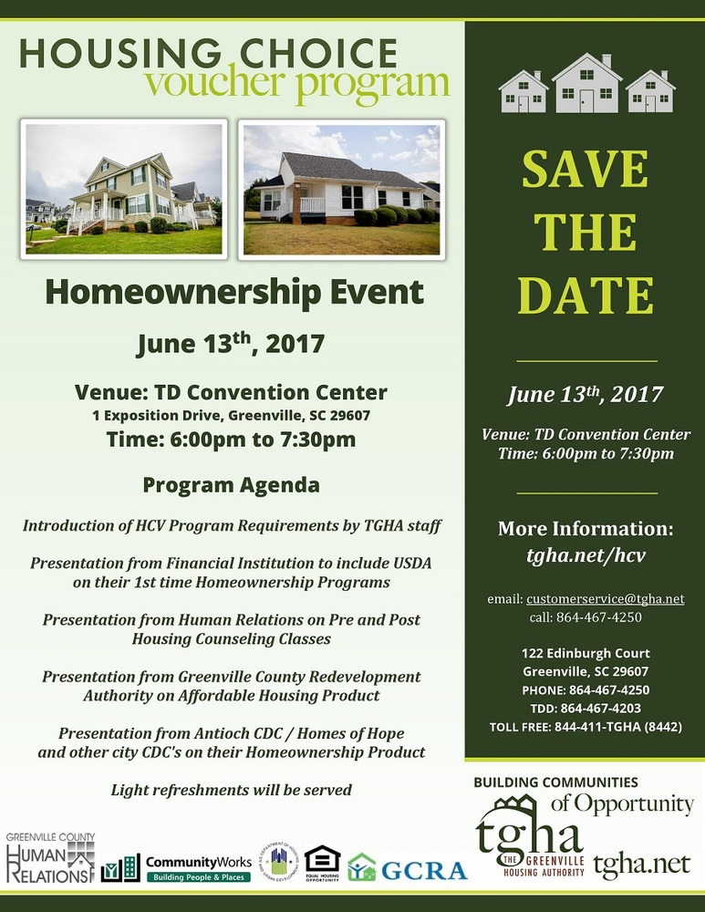 HCV Homeownership Event Agenda
