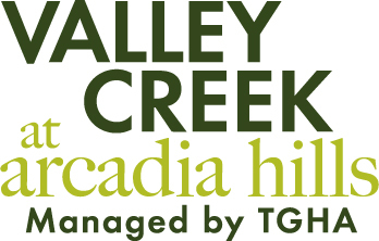 Valley Creek at Arcadia hills managed by TGHA