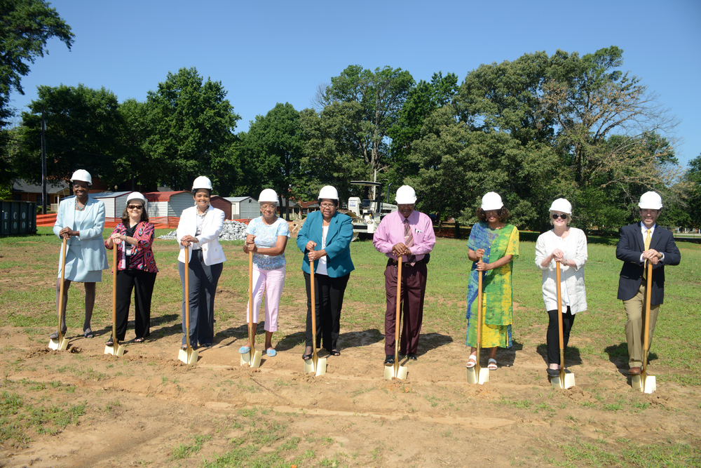 History_Manor Ground Breaking Ceremony