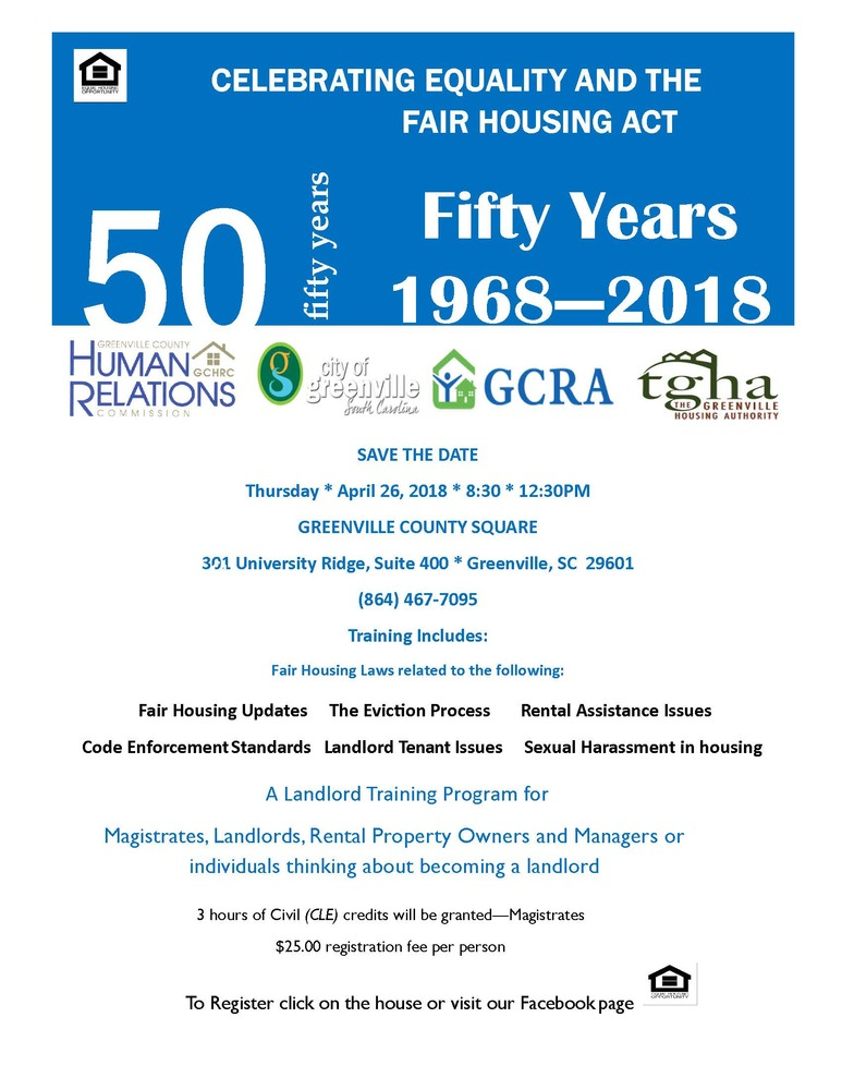 50 years Fair Housing Flyer