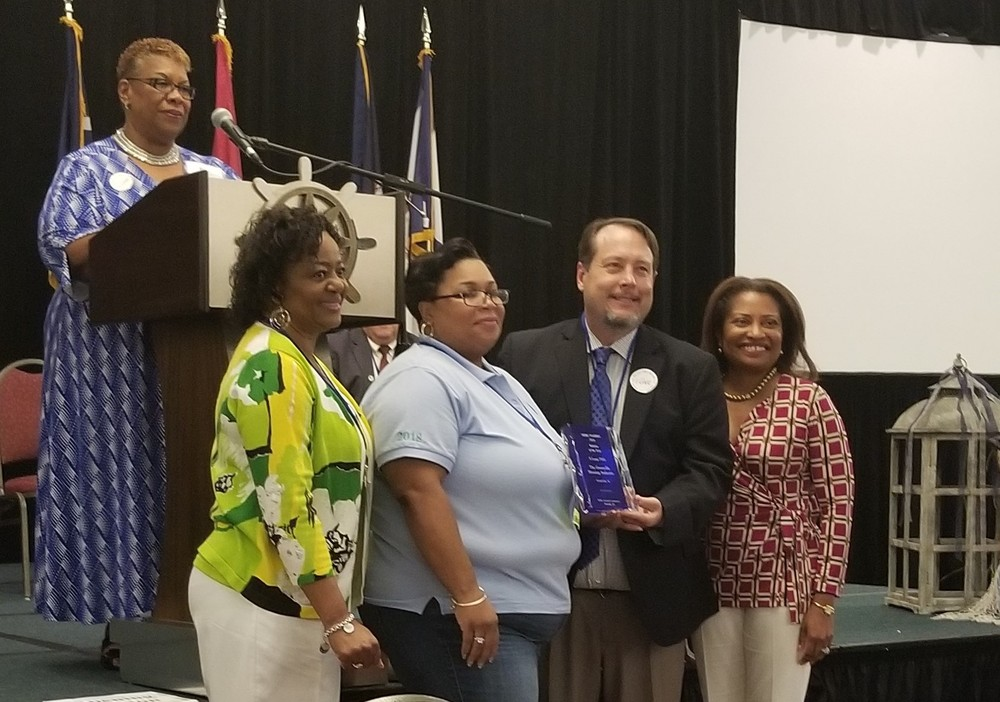 TGHA accepts awards at SERC-NAHRO
