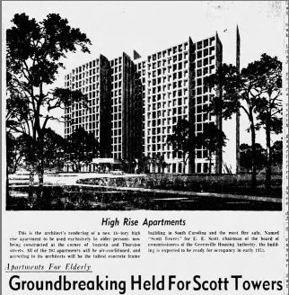1971.05.20 - Scott towers Groundbreaking Ceremony