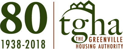 80th Anniversary Greenville Housing Authority logo