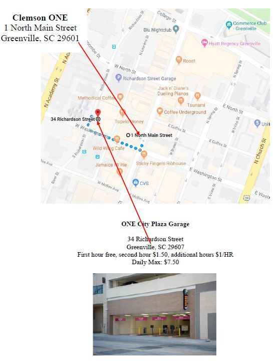 Event Parking - One City Plaza Garage - 34 Richardson Street