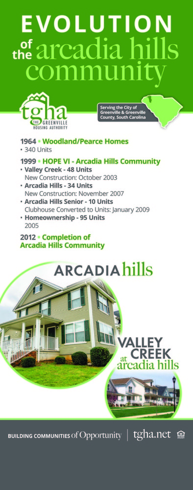Evolution of the Arcadia Hills Community