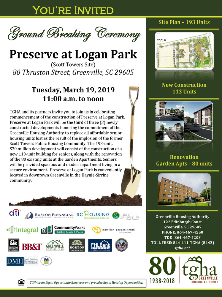 Ground Breaking Ceremony Invitation_Preserve at Logan Park