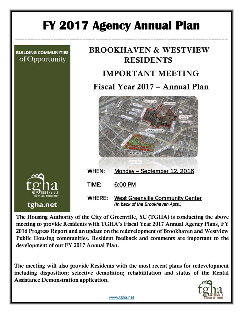 Resident Meeting Notification_Westview & Brookhaven Residents