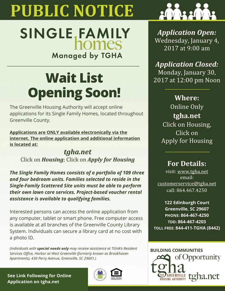 Wait List Is Opening Soon For The Single Family Homes Community 12