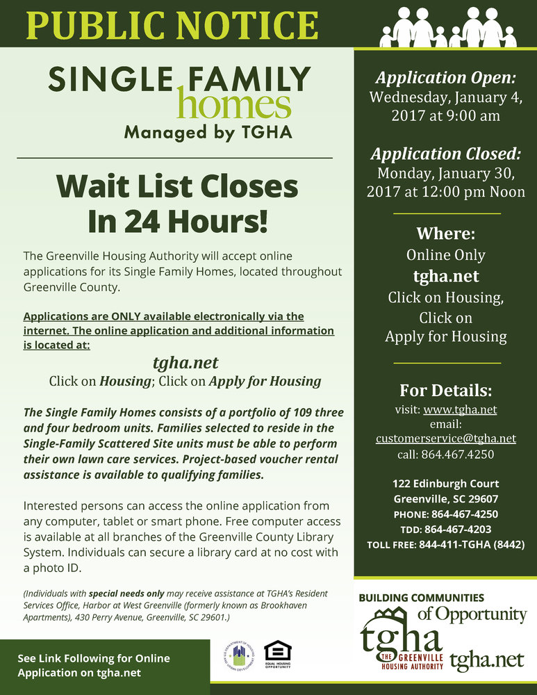 Wait List Closes in 24 Hours for Single Family Homes