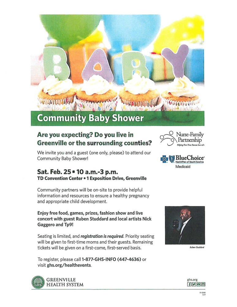 munity Baby Shower Greenville Housing Authority